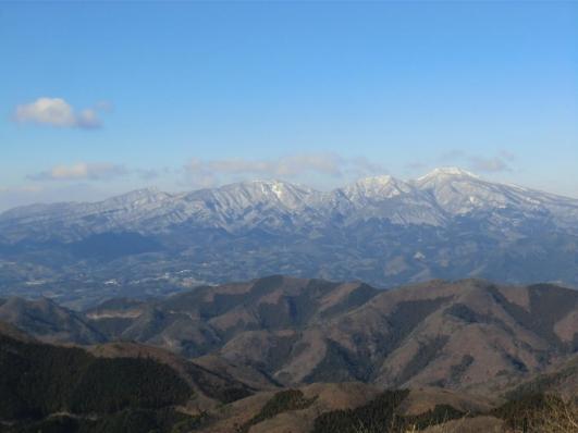 展望台から赤城山