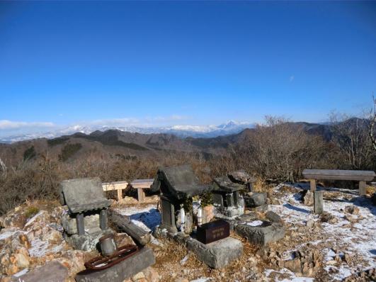 桐生岳から