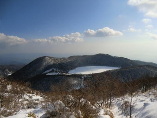 小沼、小地蔵岳から長七郎山