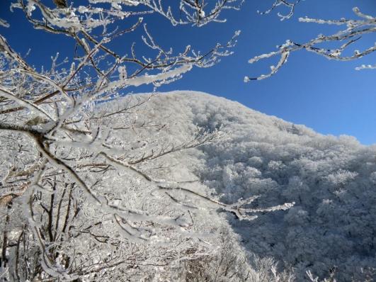 黒檜山も真っ白