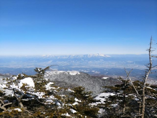 浅間から四阿山、根子岳まで
