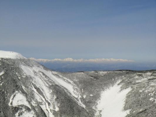 爺ヶ岳から白馬岳