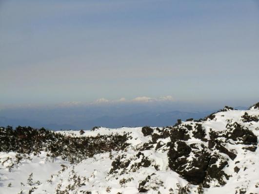 三ッ岳Ⅲ峰から妙高、火打山