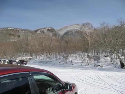 黒檜山まだ白いよ