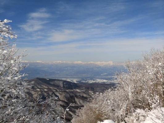 谷川岳から苗場山