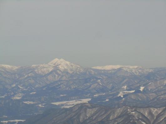 燧ケ岳と会津駒ヶ岳
