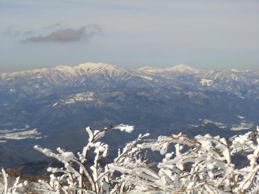 上州武尊山、笠ヶ岳、至仏山