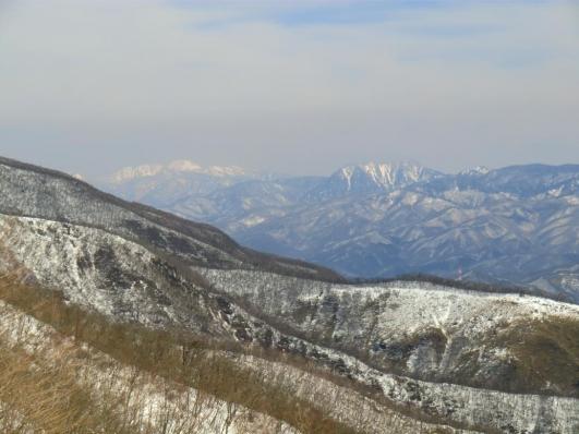 皇海山と日光白根山