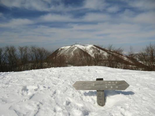長七郎山頂から地蔵岳