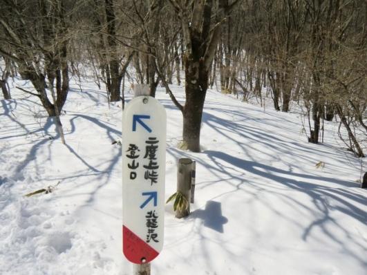 北軽井沢分岐