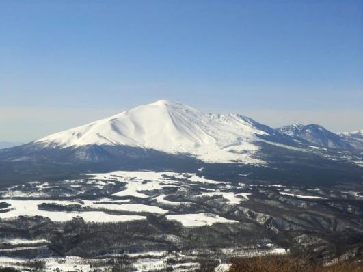 真っ白な浅間山、やっぱこれでしょ