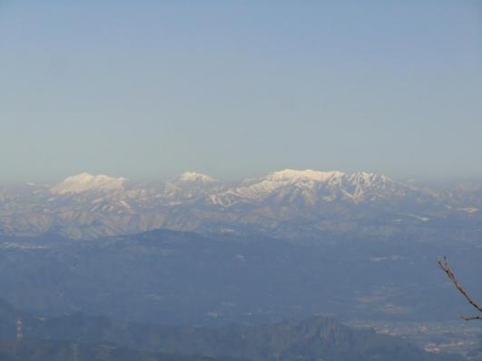 至仏山、燧ケ岳、上州武尊山