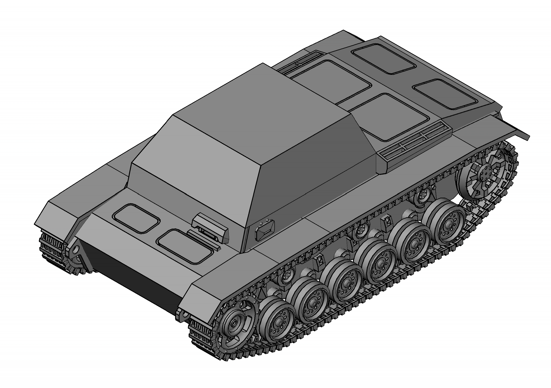 D__3D_Modelling_SU-76i_Su76i Model (2)