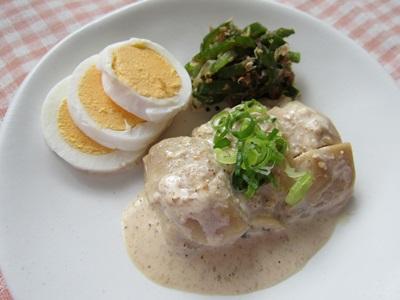 鶏の胡麻マヨ焼