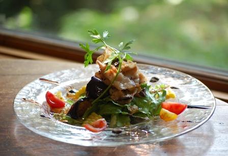豚バラ肉のソテー サラダ仕立て