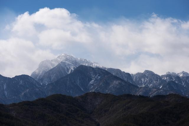 厳冬の甲斐駒ヶ岳