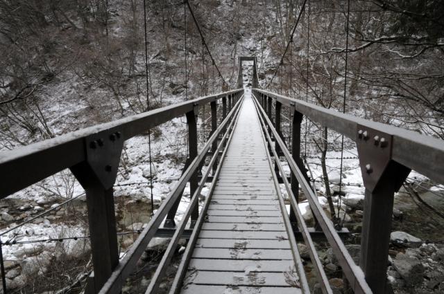 尾白川-吊り橋