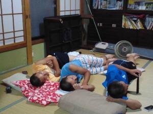 2015 8月 小林家にて