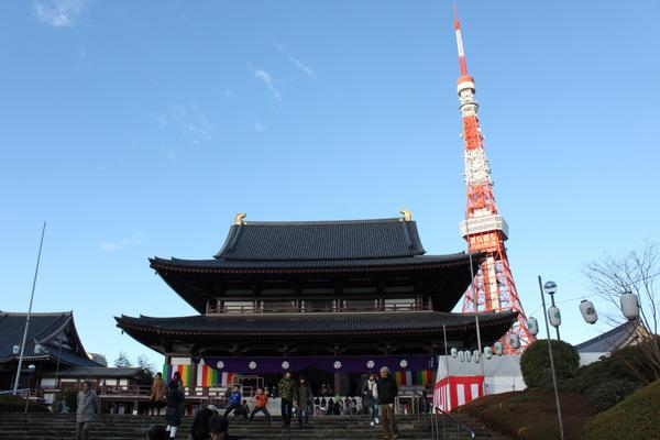 増上寺2014