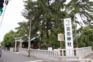 賣布(めふ)神社(松江市和多見町)1