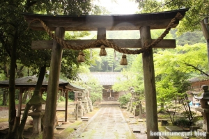 推恵(すいけい)神社(松江市西河津町)1