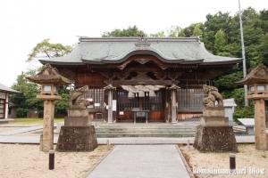 売豆記(めづき)神社(松江市雑賀町)10