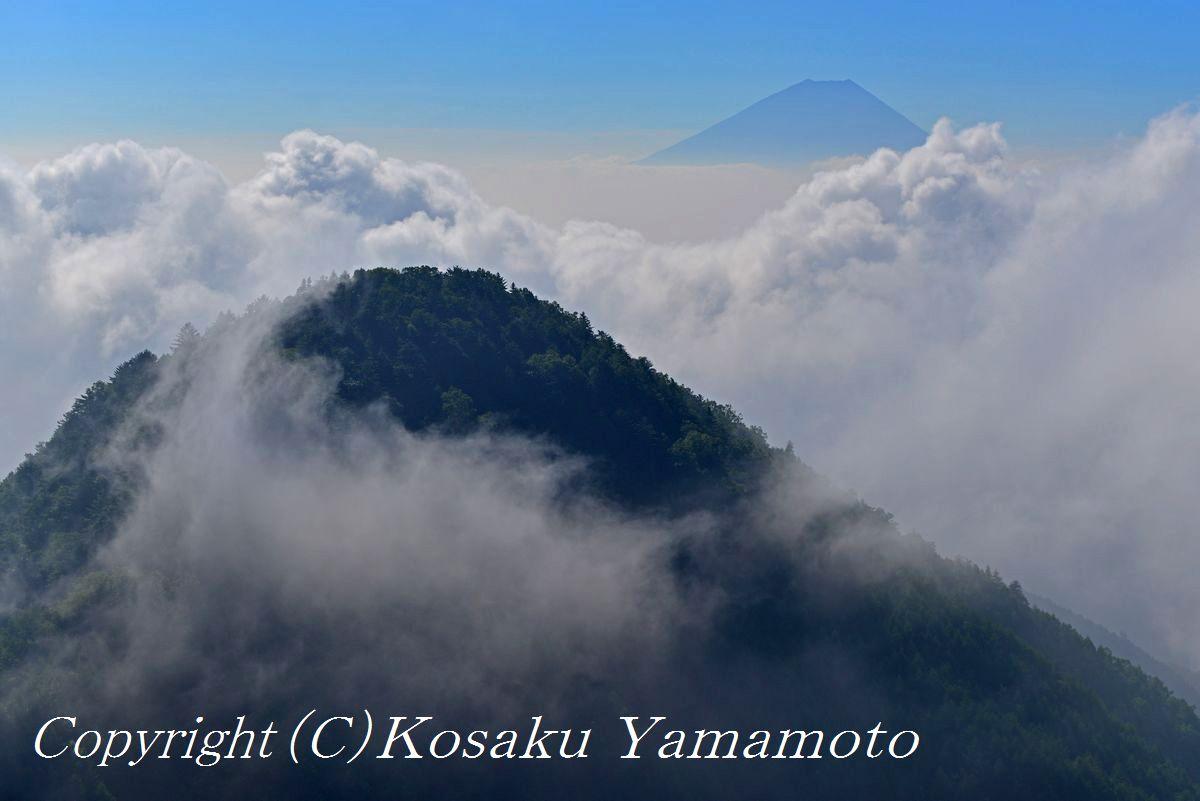 雲上孤高 (山梨県 富士川町)