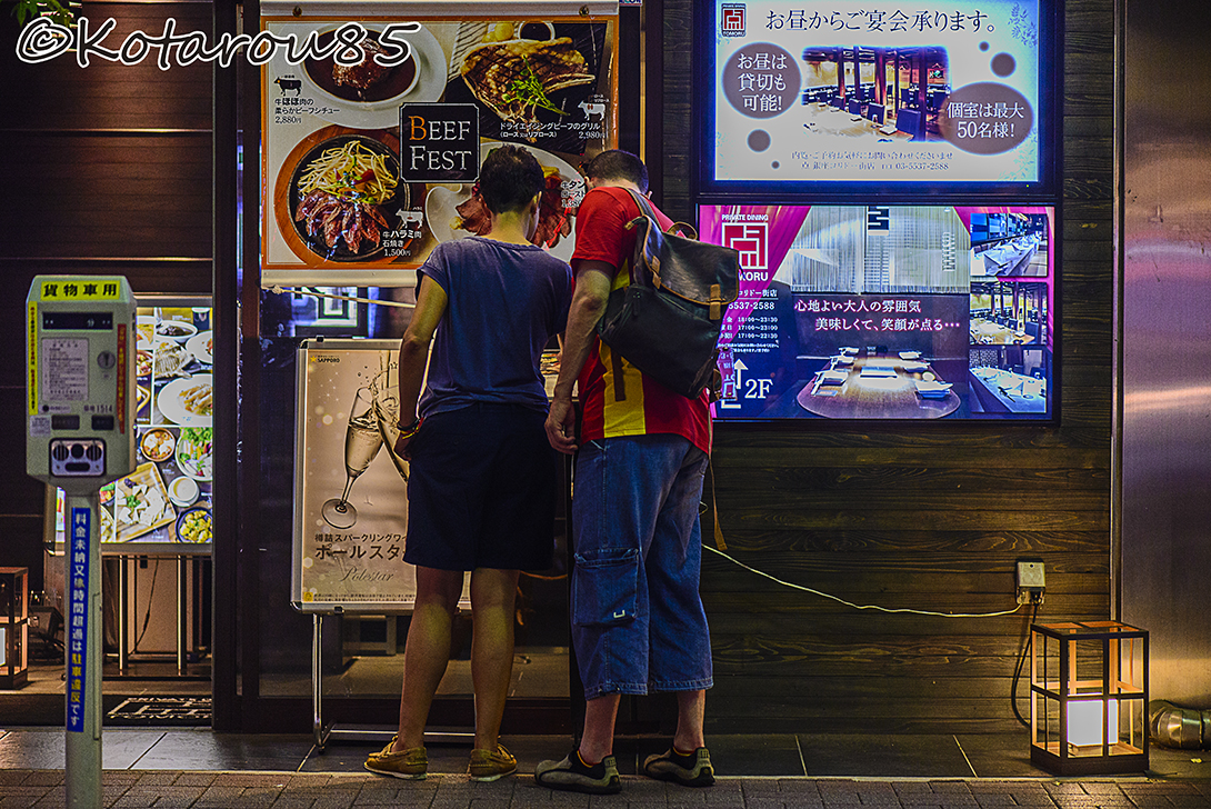 コリドー街の外国人観光客 20150815