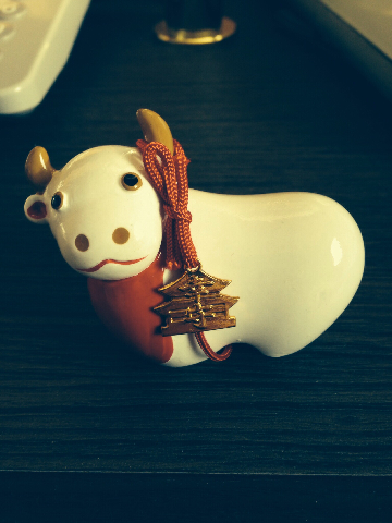 善光寺の牛