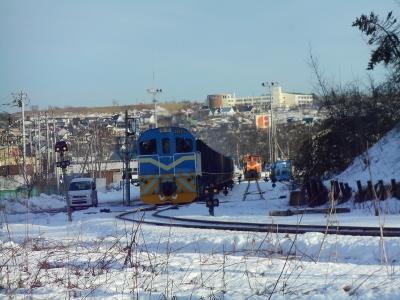 健在!石炭貨物列車