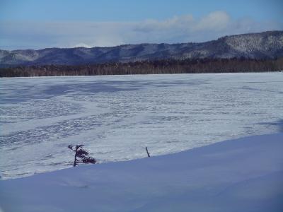 1月21日の屈斜路湖