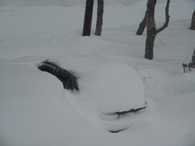 1メートル超える大雪