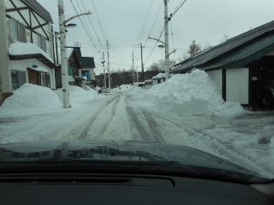 大寒なのに雪溶ける