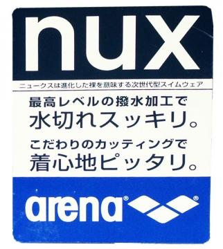 arena nux 販売用タグ