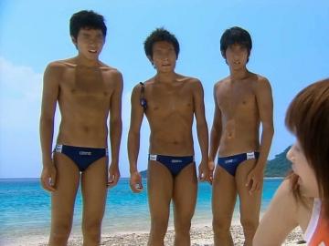 小出恵介 ウォーターボーイズ 青い海と競パン