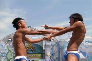 第二回全国高校ウォーターボーイズ選手権-大垣西 陸ダンス ペア