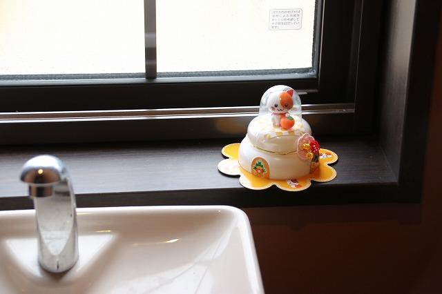 トイレも鏡餅