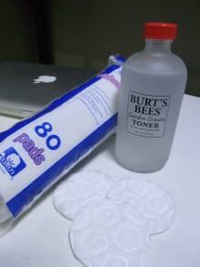 トマトエッセンスの化粧水と、使える化粧コットン見つけた!