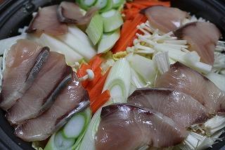 ブリ味噌鍋
