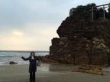 神様が通る海