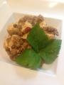 麻婆豆腐緑豆入り