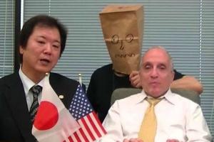 藤木俊一氏(左)とトニーマラーノ氏