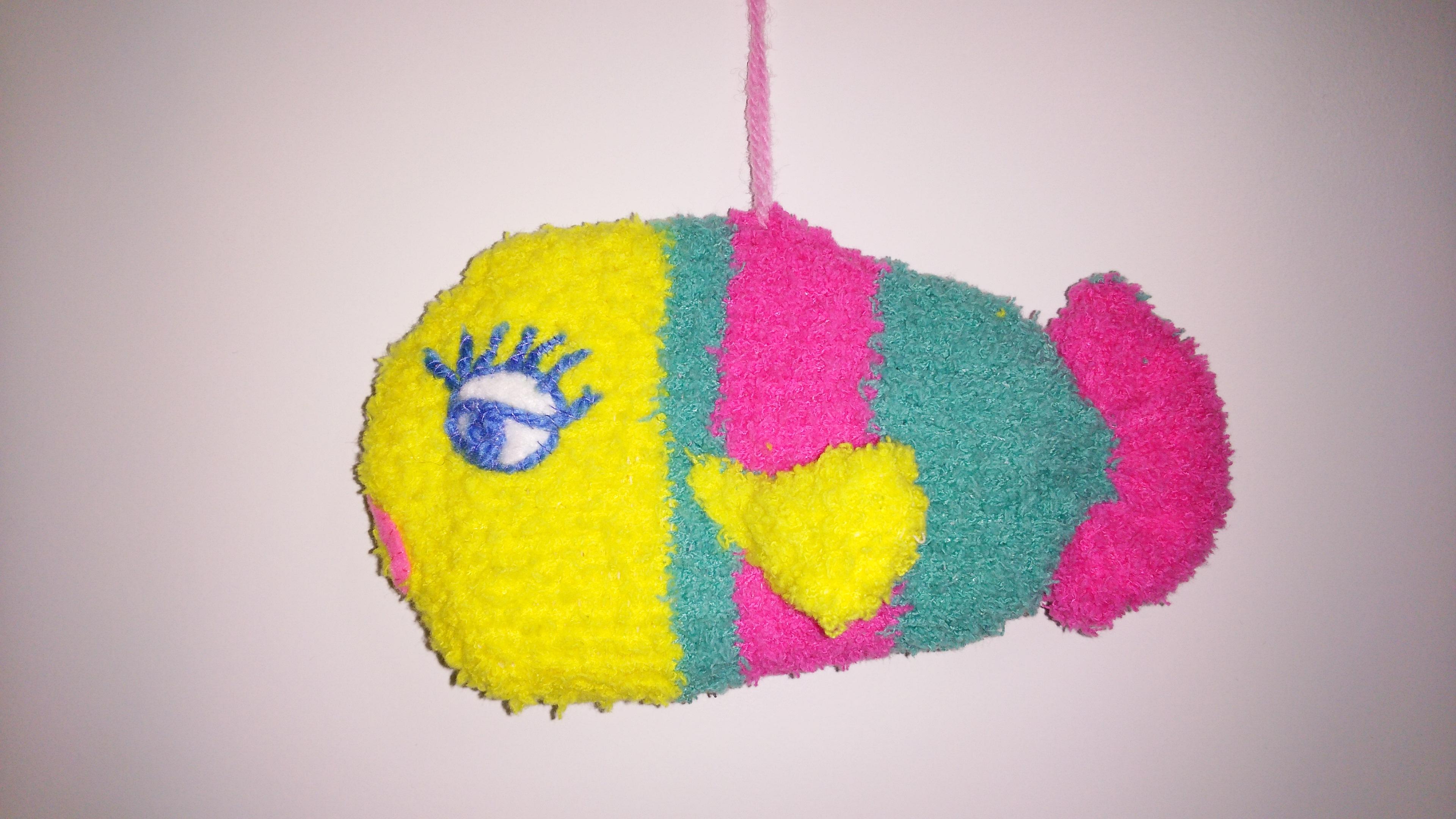 靴下 魚 完成