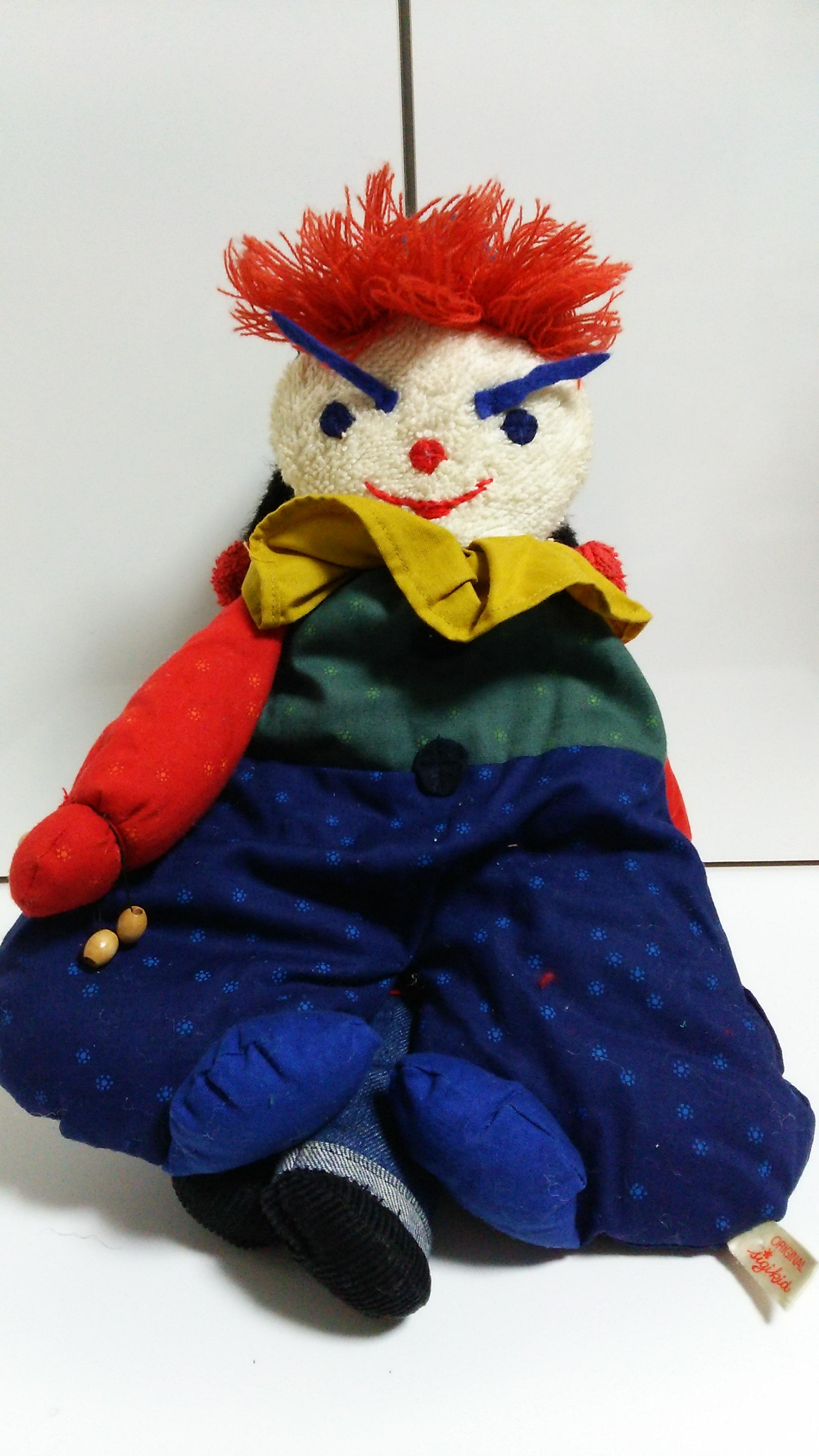 人形 怒っている 怖い 顔