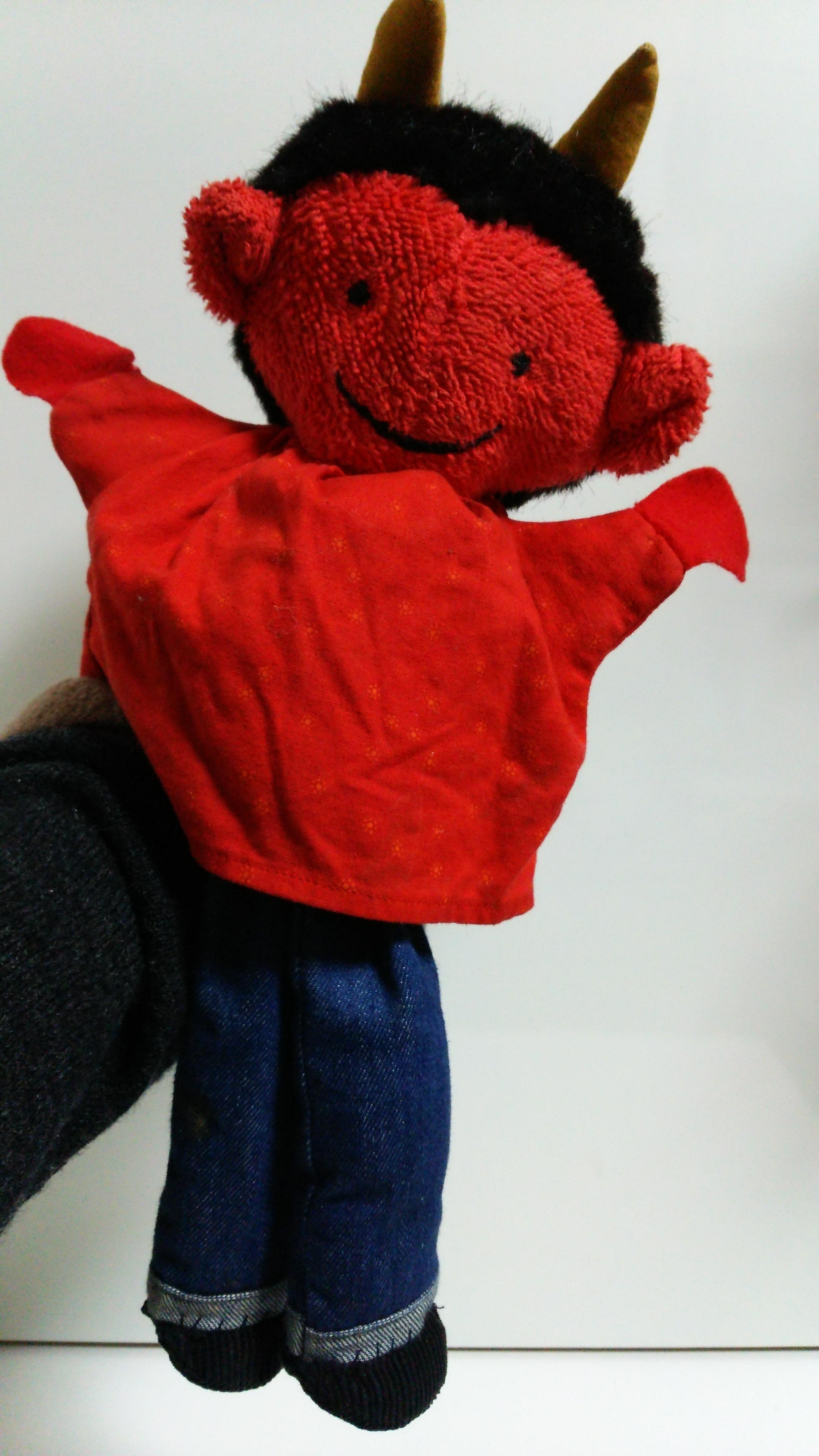 赤鬼 人形