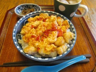 フグ玉トマト丼セット1