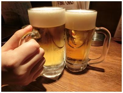乾杯ビール(えびす)