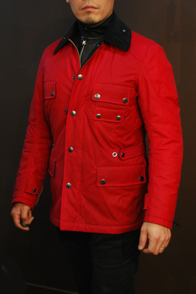 MFB-1865  オイルドキルティングジャケット