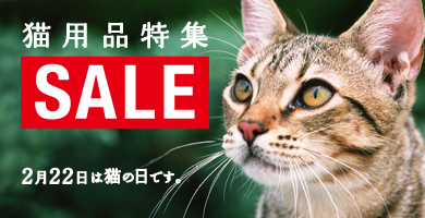 猫の日記念猫用品特集