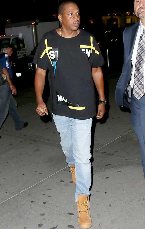 ジェイ・Z(Jay-Z):オフ-ホワイト C/O ヴァージル アブロー(OFF-WHITE C/O VIRGIL ABLOH)/ティンバーランド(Timberland)
